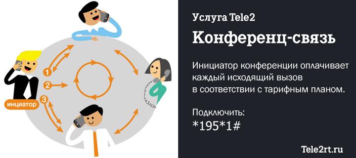 Конференц-связь Теле2
